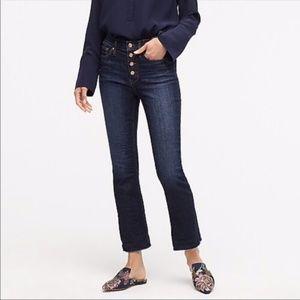 J Crew Demi-Boot Crop Jeans